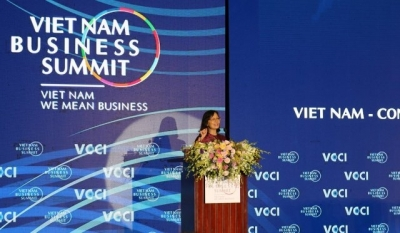 To maintain growth momentum and move up international value chains, businesses in Vietnam should focus on enhancing their capabilities in three areas: talent, technology and governance, Ms Dinh Thi Quynh Van, General Director of PwC Vietnam, told the Vietnam Business Summit 2018 held in Hanoi on September 13.