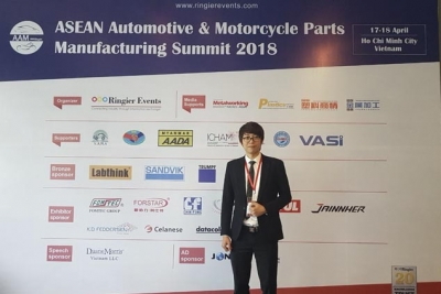 Daniel Pham- ASEAN Automotive & Motorcycle Parts manufacturing Summit 2018